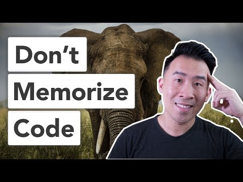 Why I Don't Memorize Code When Programming
