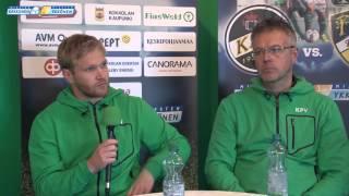 KPV - FC Honka la 10.10.2015 - Lehdistötilaisuus