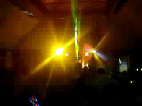 The Music Factory (rgb laser show) school disco