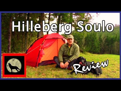Hilleberg Soulo -One Person, 4 Season, Free Standing Tent Practice Setup and Review