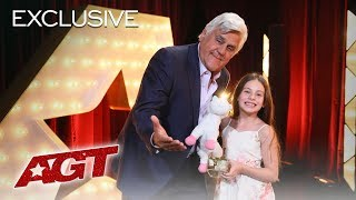 Jay Leno Reflects On Why He Gave Emanne Beasha The Golden Buzzer! - America's Got Talent 2019
