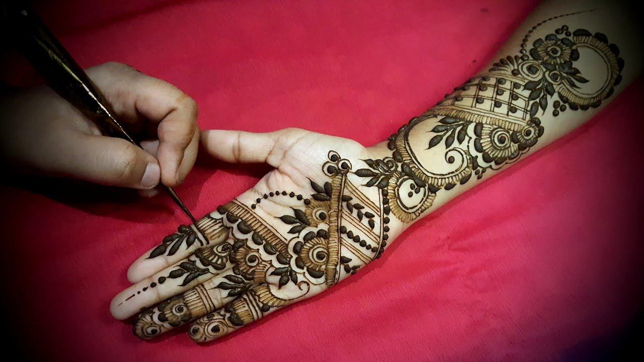 Dubai Arabic Mehndi Henna Design: Indo Arabic Dubai Henna Mehndi Design Style