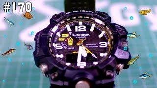 Китайские часы и G-SHOCK MUDMASTER на 50 метрах под водой тест обзор