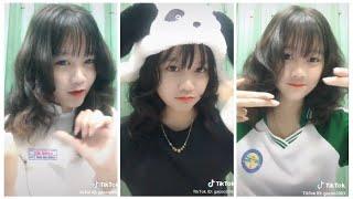 Best Tik Tok VN ❤ info Gái Xinh ❤ Gà Con 2k3 - Dương Kim Khôi  ❤ Hot girl THPT Long Mỹ