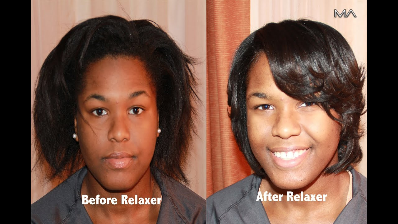 Perming your hair straight - Relax Your Hair Straight Like A Professional Hairstylist