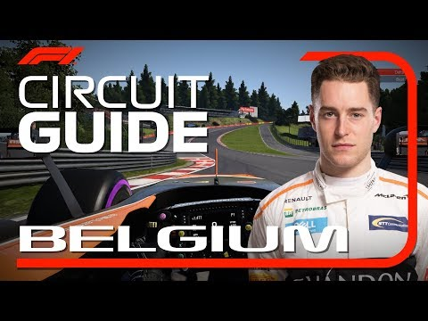 Stoffel Vandoorne's Virtual Hot Lap of Spa | Belgian Grand Prix