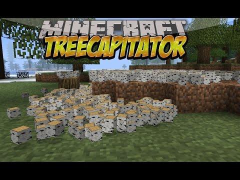 TreeCapitator MOD (Tala los arboles quitando solo un bloque) Español Minecraft 1.8/1.7.10/1.7.2