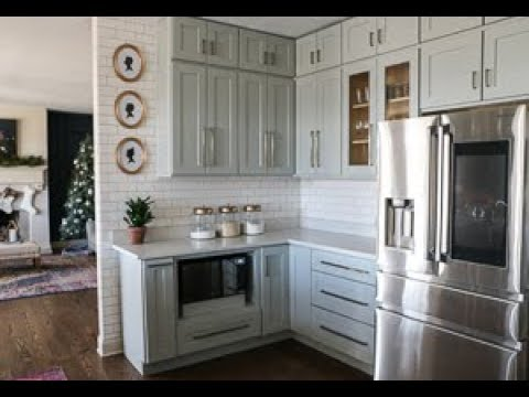 Assembling Kitchen Cabinets with Custom Service Hardware