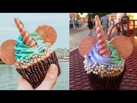 Disney World vs. Debuts Mickey Mouse Unicorn Cupcakes At Boardwalk Bakery