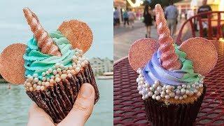 Disney World Debuts Mickey Mouse UNICORN Cupcakes At Boardwalk Bakery