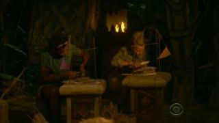 Survivor Ghost Island: Angela's Fire Making Challenge Elimination Part 1