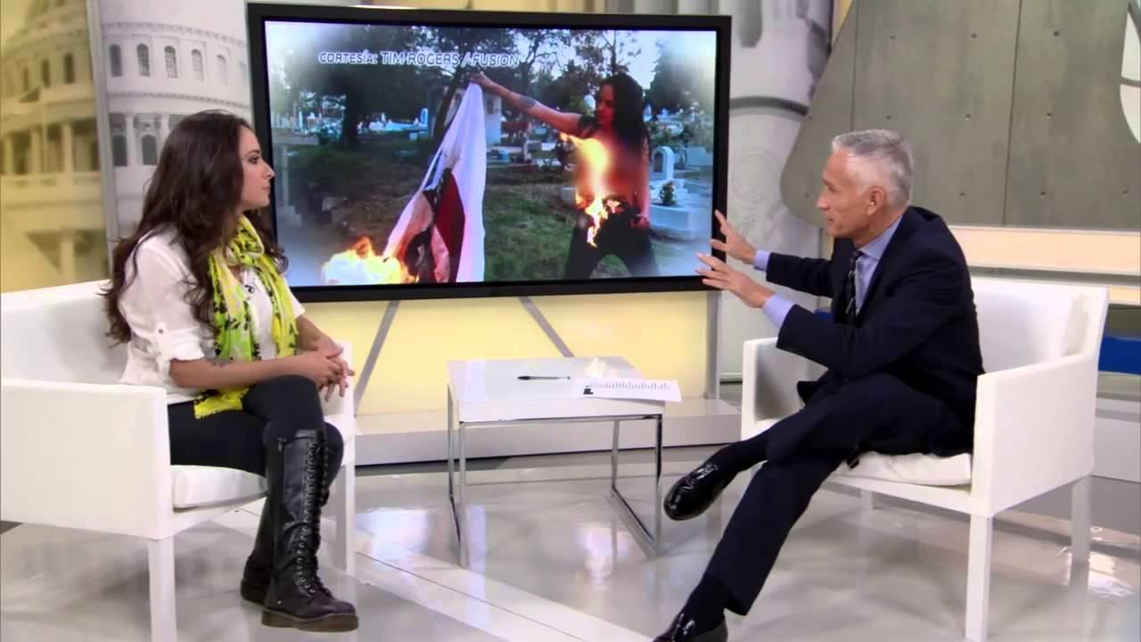 Jorge Ramos entrevista a Gisela Perez de Acha