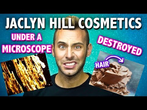 Jaclyn Hill Lipsticks UNDER A MICROSCOPE + DESTROYED + BLACK LIGHT