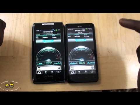 Battle Vid:  The Best 4G LTE Speeds Verizon Wireless vs AT&T