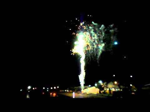NYE Fireworks - Thursday Island, Queensland
