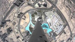 Earth is Round Amazing View from The Top Of The Burj Khalifa (DA
