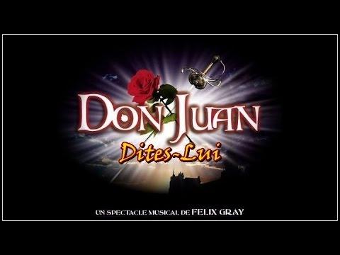 Don Juan Comédie Musicale Dites Lui Lyrics English Translation