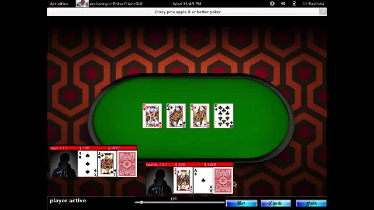 Poker server open source brunch lille casino