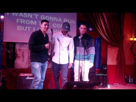 Karaoke night in Athens