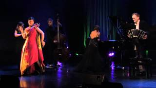 Angelika Klas, Nina Hyvärinen & Tanguedia Quintet: Tango Veneto (Kirmo Lintinen/V-P Hänninen)