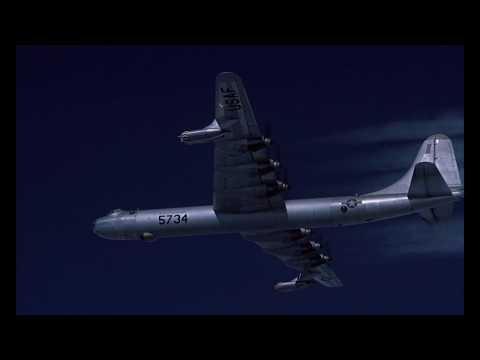 """Six Turning Four Burning - Convair B-36 """"That's It, Let's Go Home"""""""