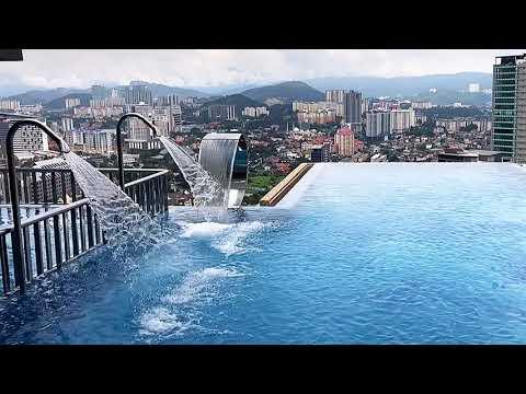 Panorama Kota Kuala Lumpur Dari Jendela IBIS KLCC