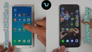 Honor Play vs Xiaomi Mi Mix 2s Speed test/Comparison/Kirin 970 vs Snapdragon 845