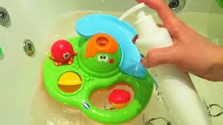 Іграшка для купання Острів мильних бульбашок Chicco # Іграшка для ванної