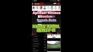 Aplikasi Nonton bola live streaming Terlengkap dan terbaik  Live streaming sepak bola terlengkap