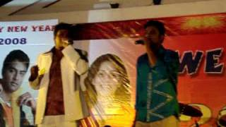 Musicry Harikrishna (Indian Beat Boxer) performing for movie Garshana
