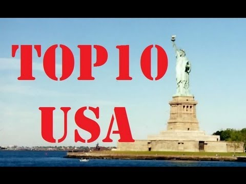 Visit America - Top 10 Cities in the USA