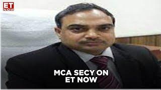 MCA secretary speaks on IBC resumption and Pre Packs for MSMEs