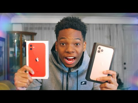 New IPhone 11 Pro Max & IPhone 11 Unboxing