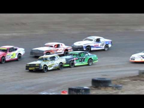 Desert Thunder Raceway I.M.C.A Stock Car Heat Races 4/28/18