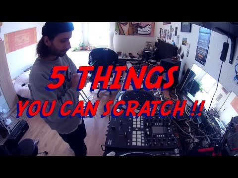 SALIGO - 5 THINGS YOU CAN SCRATCH WITH PHASE DJ !
