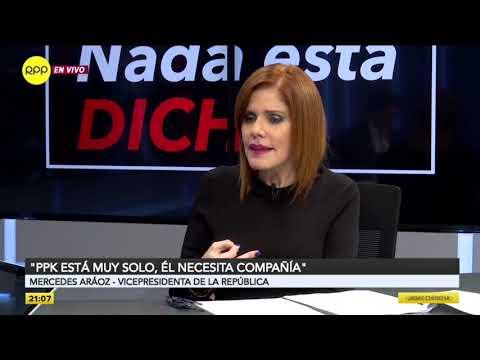 """Mercedes Aráoz: El fiscal José Domingo Pérez """"está politizando la justicia"""""""