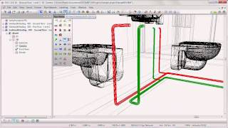 DDS-CAD - Getting Started: Plumbing system design (7/8)
