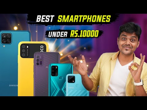 Top 5 Best Mobile Phones Under ₹10000 Budget July 2021