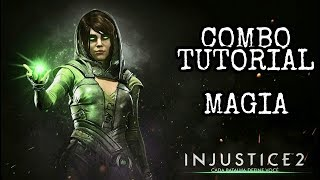 Injustice 2: MAGIA (ENCHANTRESS) - Combo Tutorial