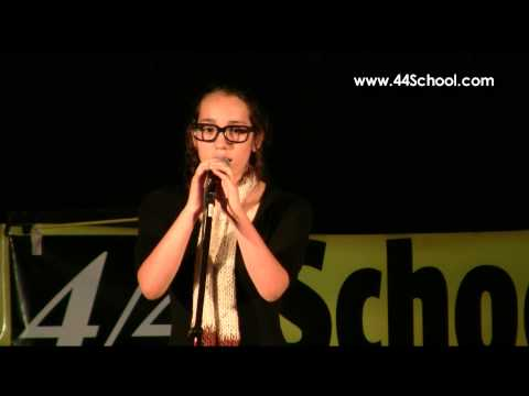 Brittney T 44 School of Music Fall Concert 2012 Voice Lessons