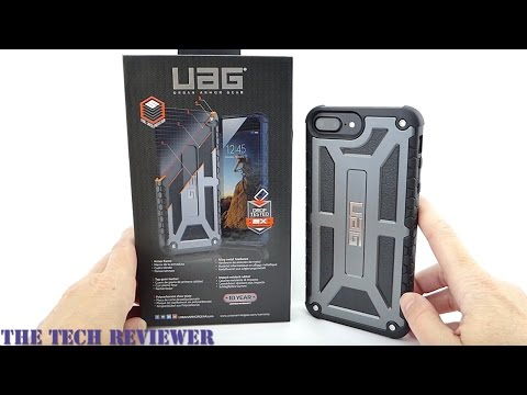 2X Mil-Spec Drop Protection, Leather, & 10 Yr Warranty: UAG Goes Upscale with Monarch for iPhone 7+
