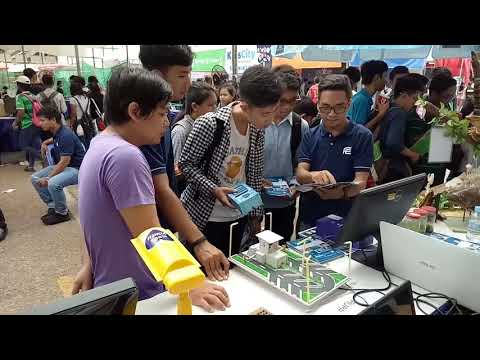 Faculty of Engineering, The 4th Cambodia Science and Engineering Festival in Olympic Stadium