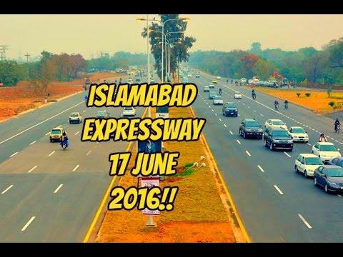 Islamabad expressway 17 june 2016!