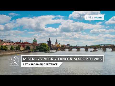 Chmelík - Šťastná / MČR LAT 2018 / Praha / Dosp - F- R