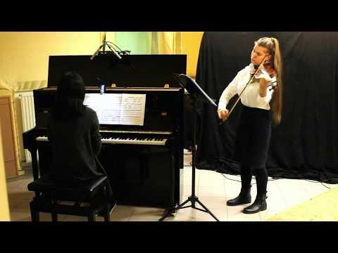 Tchaikovsky violin concerto - Eleonore De Ridder