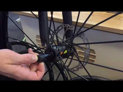 Mavic Speed Release Road Bike Thru Axle