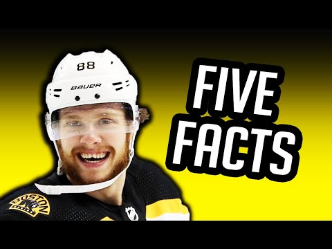 David Pastrňák/5 Facts You Never Knew