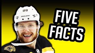 David Pastrňák/5 Facts You Never Knew