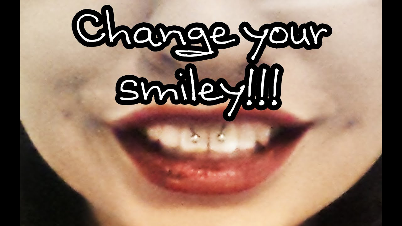 How To Change Your Smiley Piercing Youtube