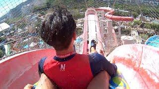 Monster Blaster Water Slide at Ocean World